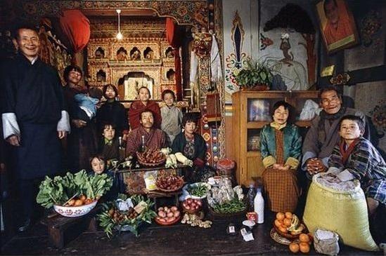 Bhutan - Kostnad per vecka: 5$