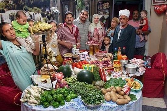Egypten - Kostnad per vecka: 69$