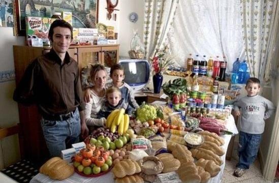 Italien - Kostnad per vecka: 260$
