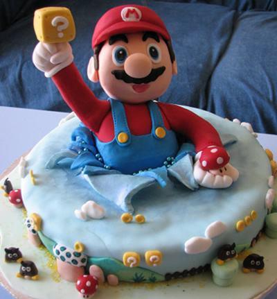 11 Oemotståndliga Super Mario Tårtor